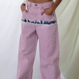 urban outfitters lilac tie dye jeans
